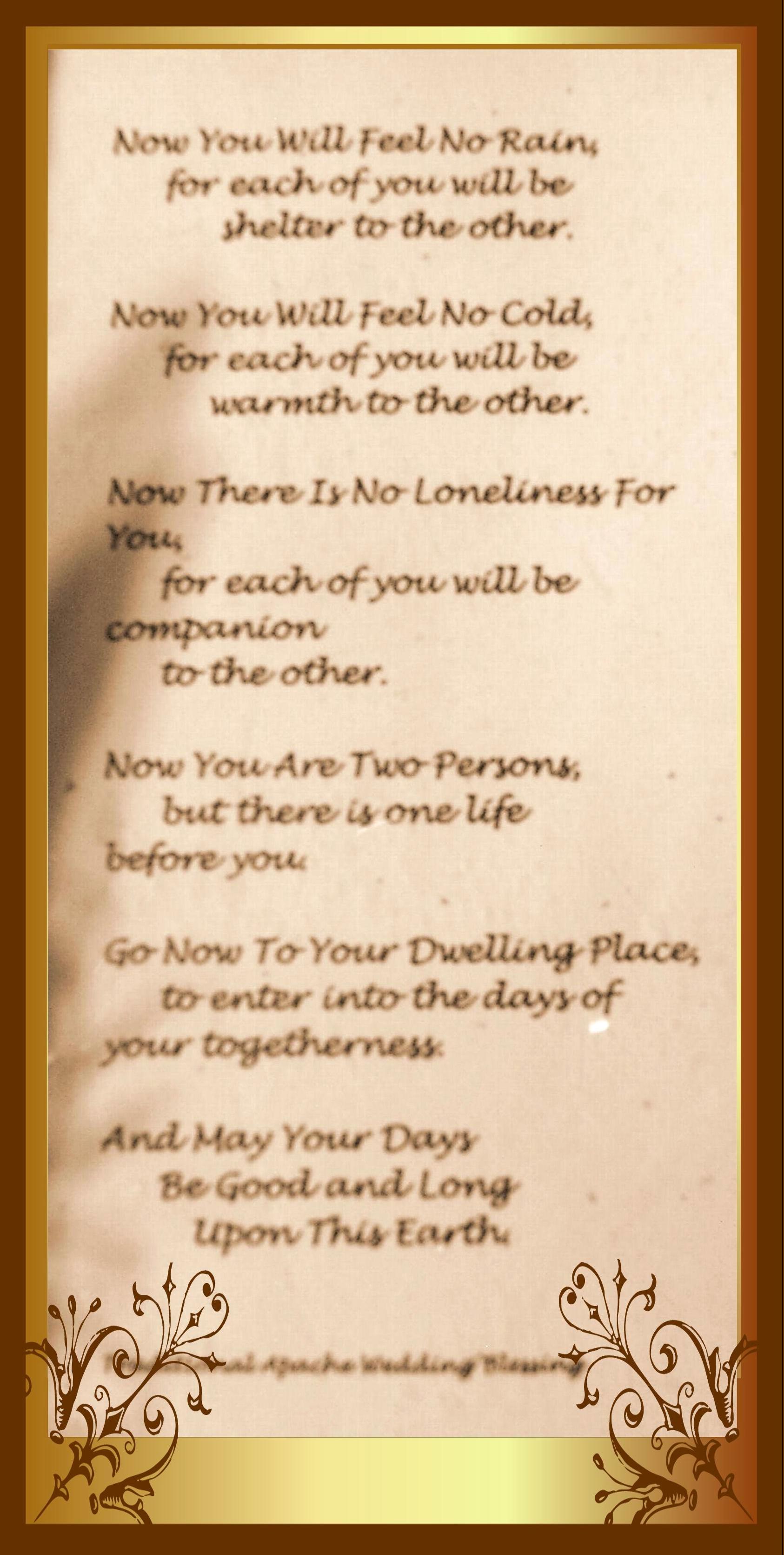 72 Blessings For Weddings