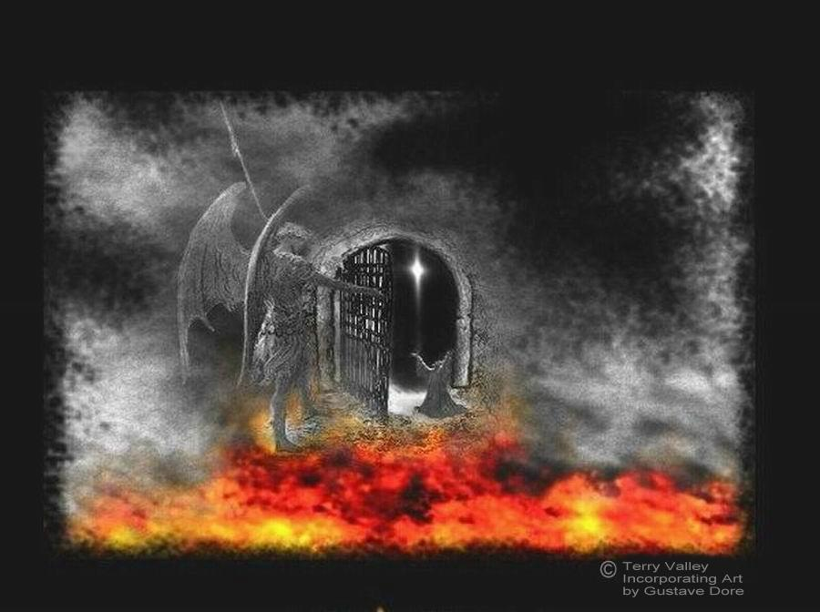 TERRY'S GATES OF HELL - CREDITS - LARGER