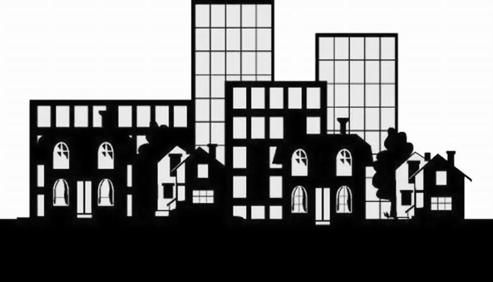 BLACK & WHITE LITTLE CITY