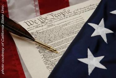 CONSTITUTION & FLAG - CALIF STATE UNIV.