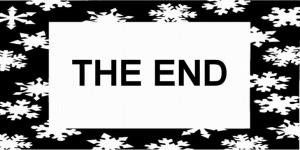 SNOWFLAKE FRAME 51 - THE END