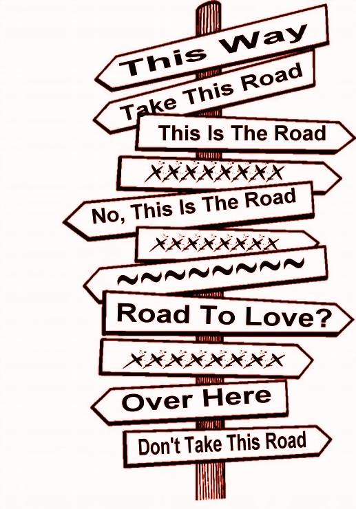 STREET SIGNS - MULTIPLE, LOVE