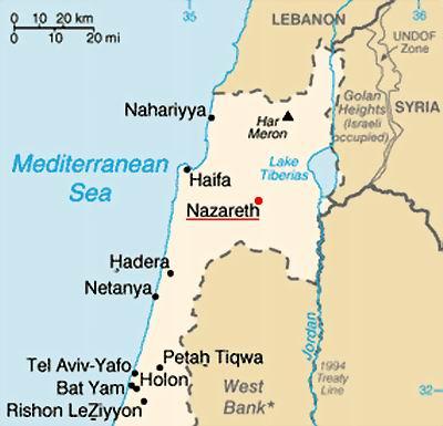 NAZARETH, ISRAEL - EDITED