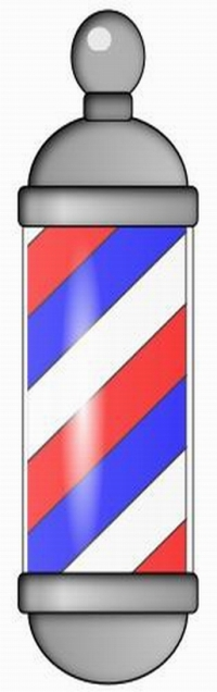 BARBER POLE - CLIPART