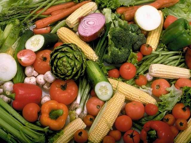 FRESH VEGETABLES FOR STORY