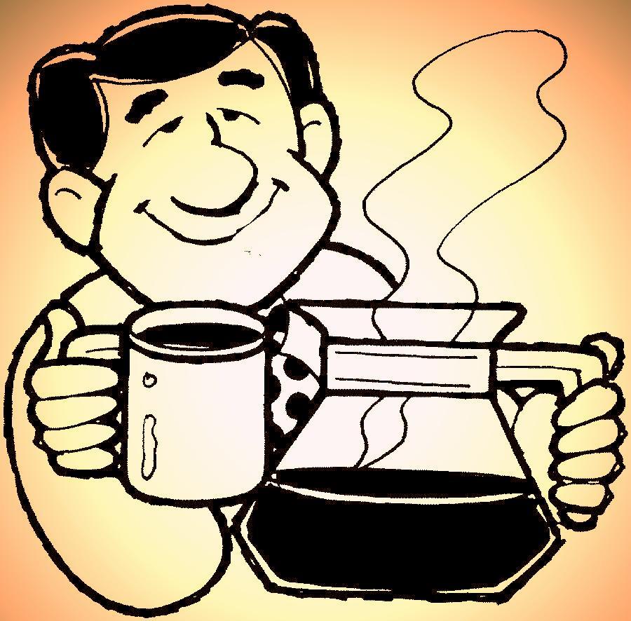 COFFEE MAN - RED,YELLOW