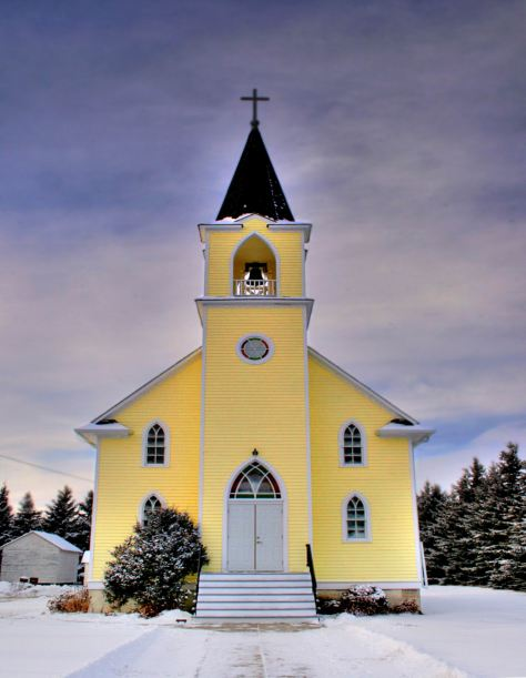 YELLOW LUTH. CHURCH. (Wikiped)  St_Johns_Lutheran_Church_Rabbit_Hill_Alberta_Canada_02A - WIDENED