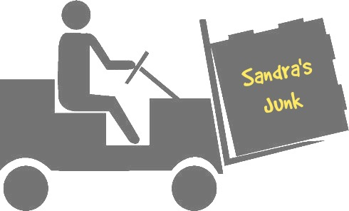 FORKLIFT AND BOX SILLOH. - gray w. text