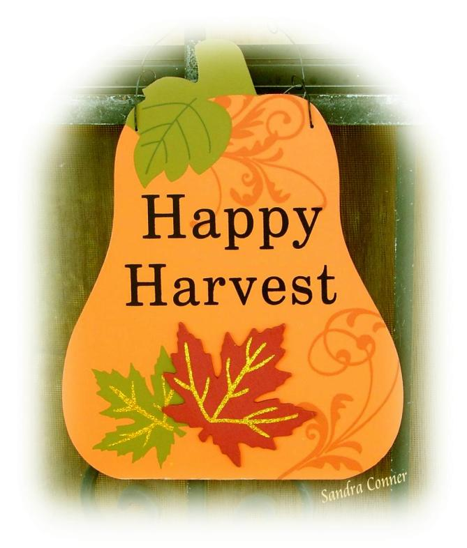 HAPPY HARVEST FADED EDGE