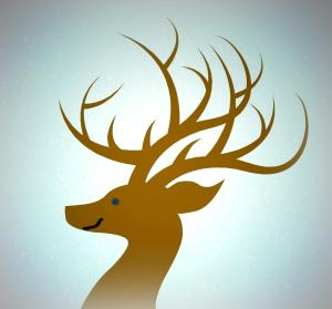 ARNOLD'S ANTLERS FOR END WITH CURVIER SMILE