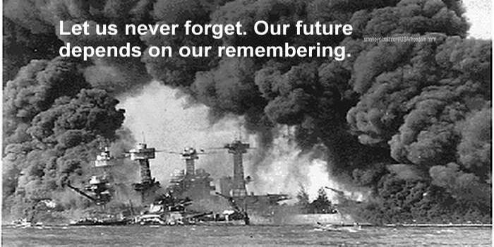 PEARL HARBOR, 1941, FOR FB w. remembering text