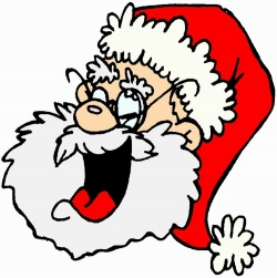 SANTA LAUGHING - EDITED
