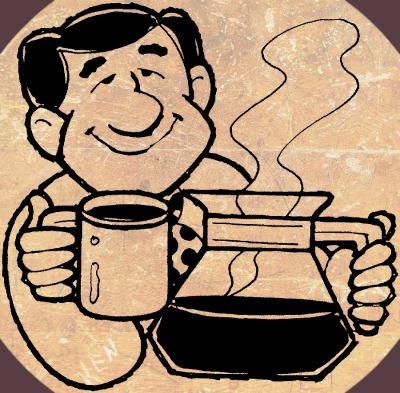 COFFEE MAN - scrapbook corners