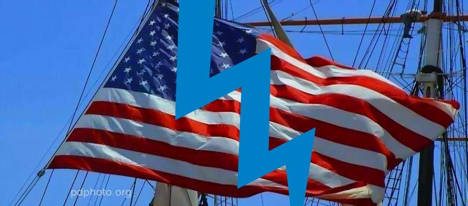 FLAG ON SHIP SPLIT