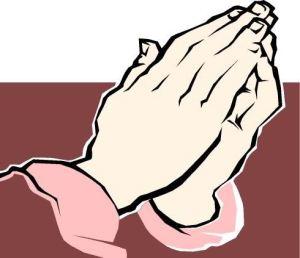 PRAYIN HANDS CLIPART - flipped