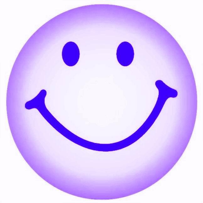 SMILEY - PURPLE