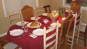 SUNDAY DINNER TABLE -- DANBOLD, WIK.ORG