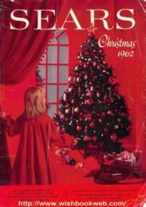CHRISTMAS CAT - SEARS - 1962 - LARGER