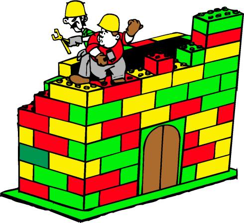 CONSTRUCTION OF LEGO BUILDING