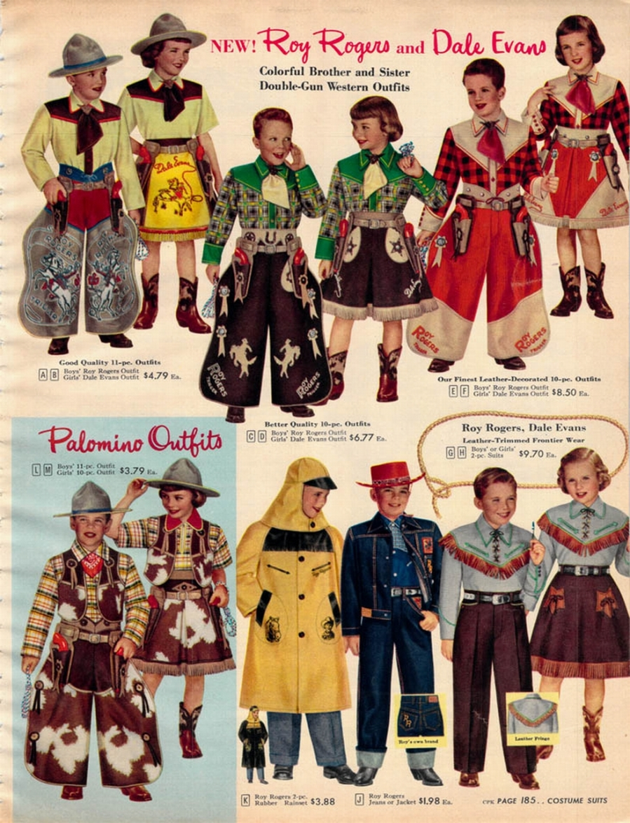 SEARS 52 - COWBOY-COWGIRL OUTFITS
