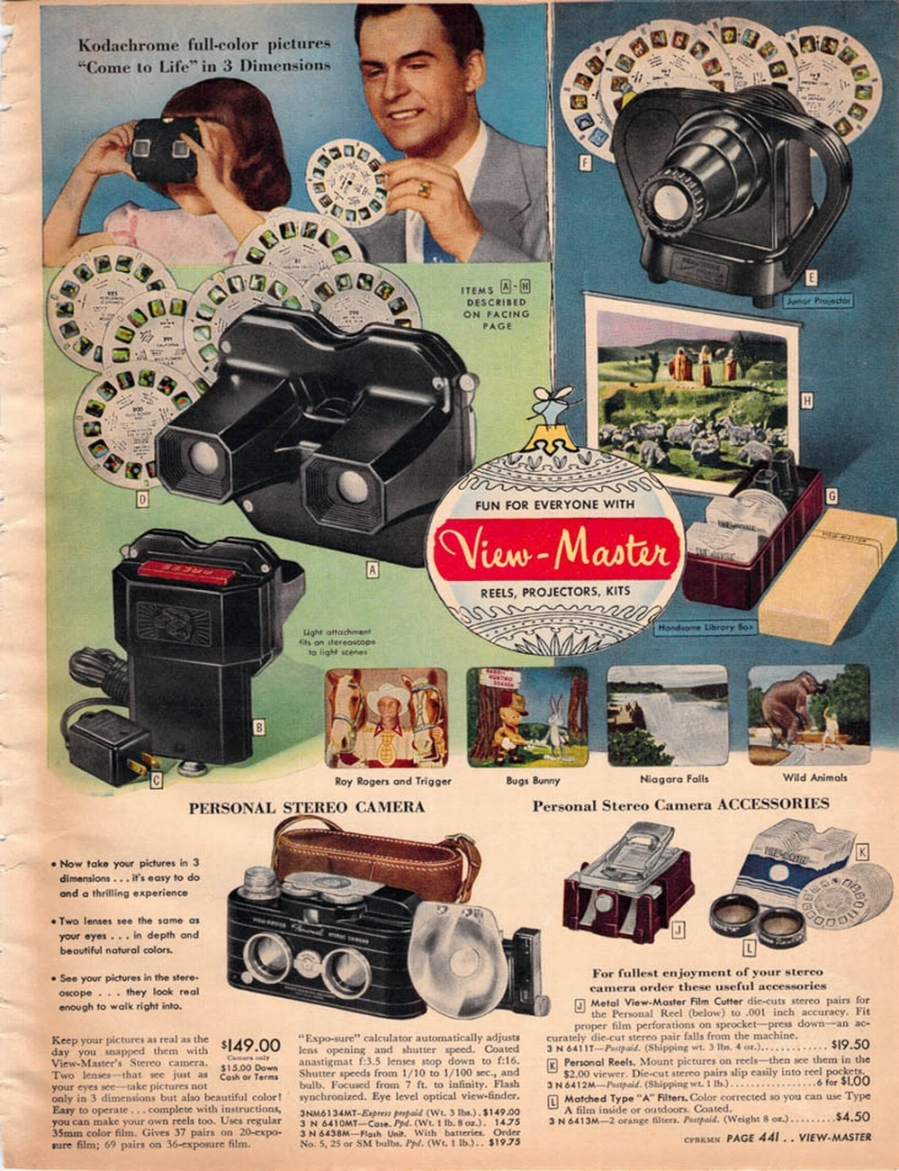 SEARS 52 - VIEWMASTER