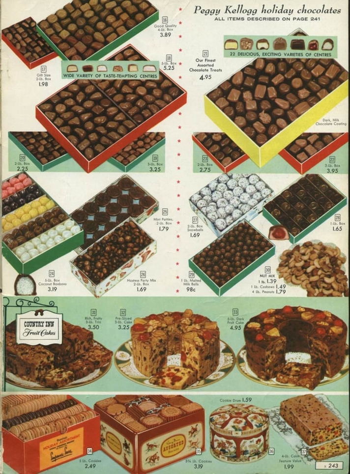SEARS CANADA - 1957 - CANDY 2