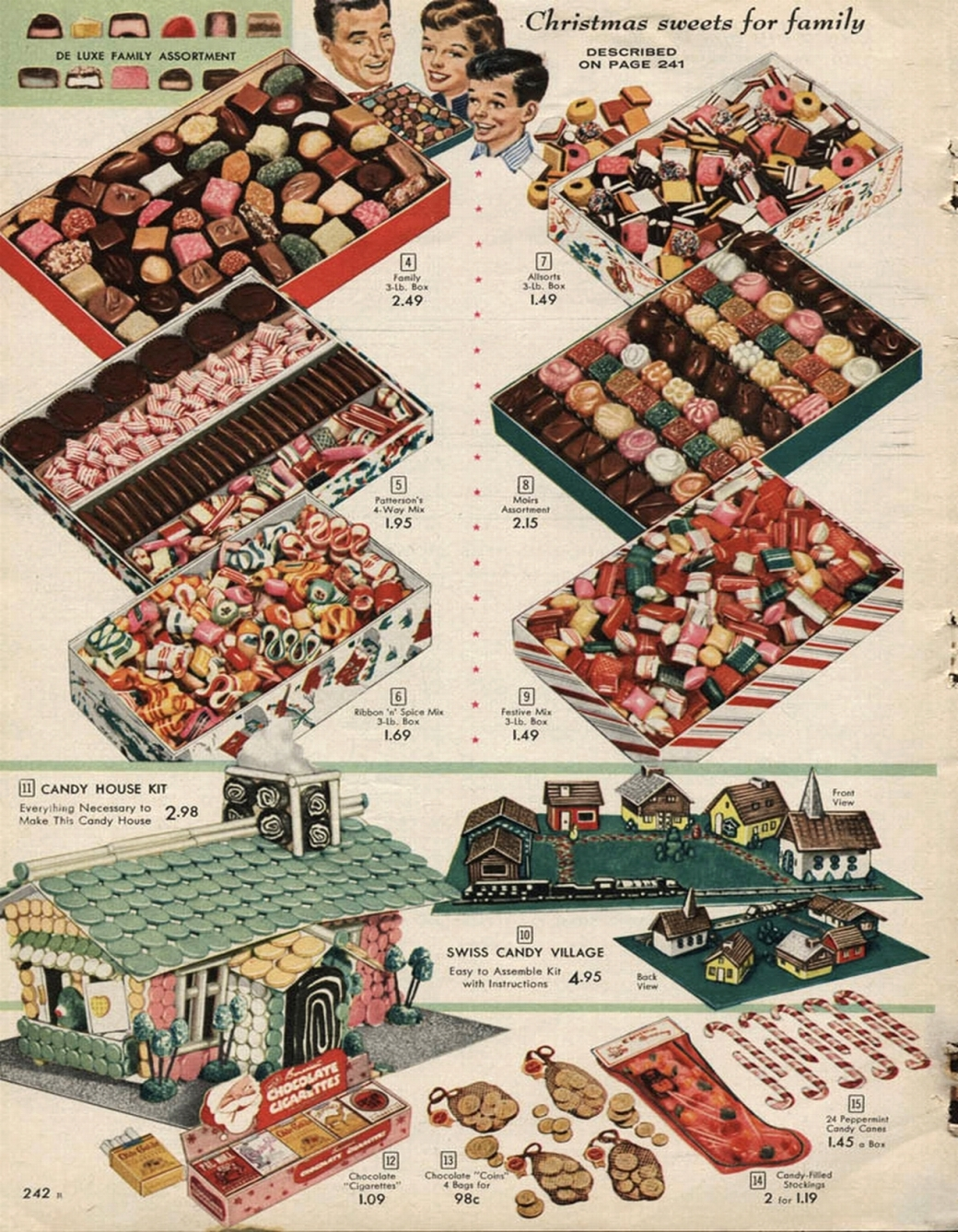 SEARS CANADA -CANDY 1 - 1957