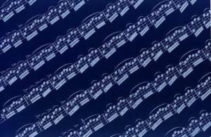 MUSIC SHEET - NEGATIVE