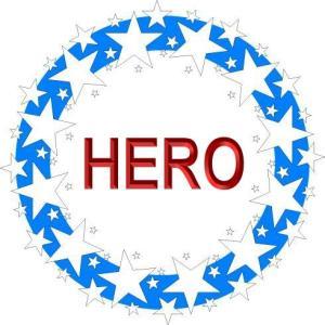 STAR WREATH - HERO