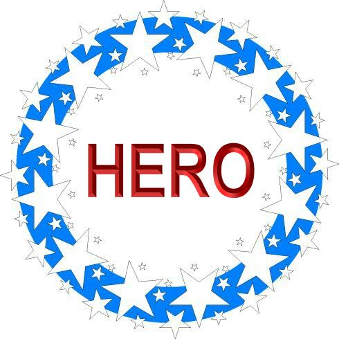 STAR WREATH - HERO