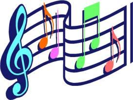 MUSIC STAFF - MULTICOLORED