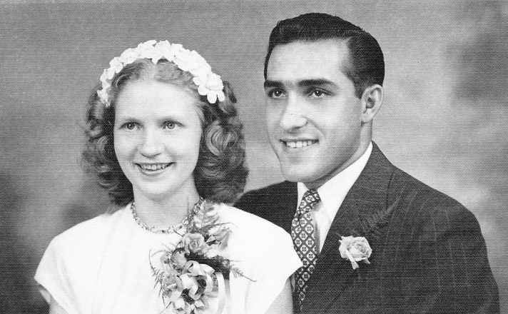 MOM & DAD'S WEDDING PIC - CROPPED