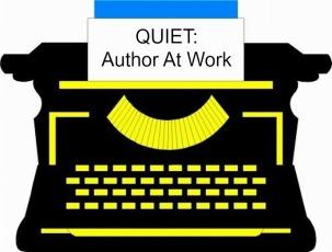 BLACK TYPEWRITER w. quiet