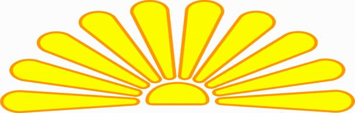 CLIP ART SUNSET