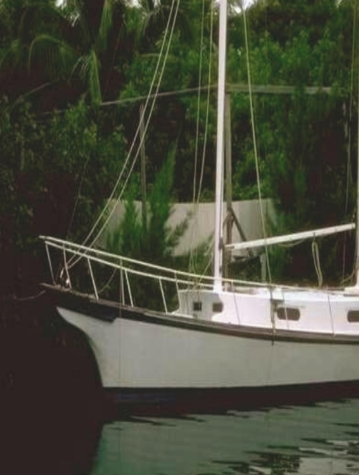 SAILBOAT - DOCKED, MINE, 300 RES - RED TINT