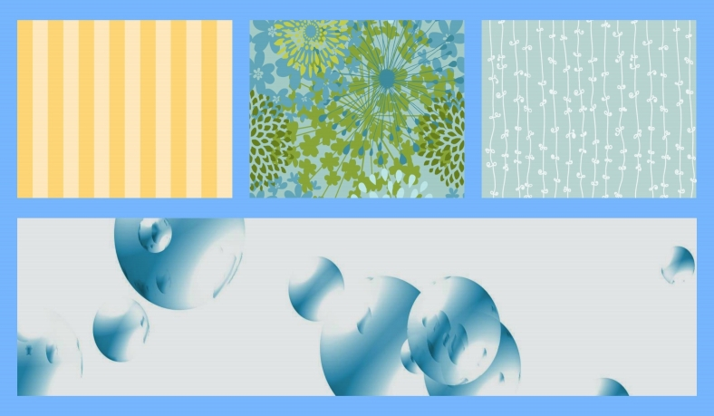CREATION COLLAGE - BLUE