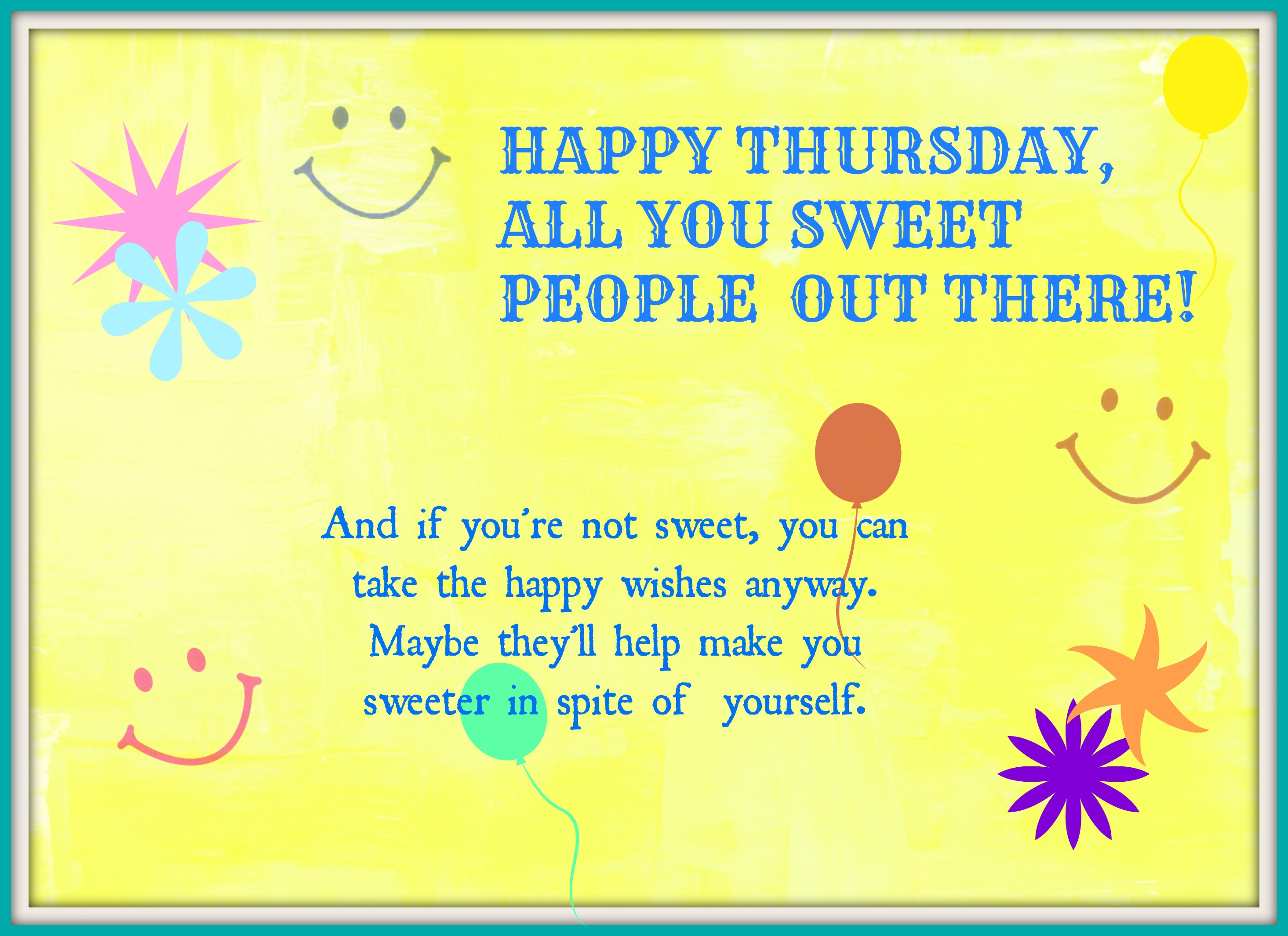 Thursday greetings a visit with sandra thursday greetings m4hsunfo