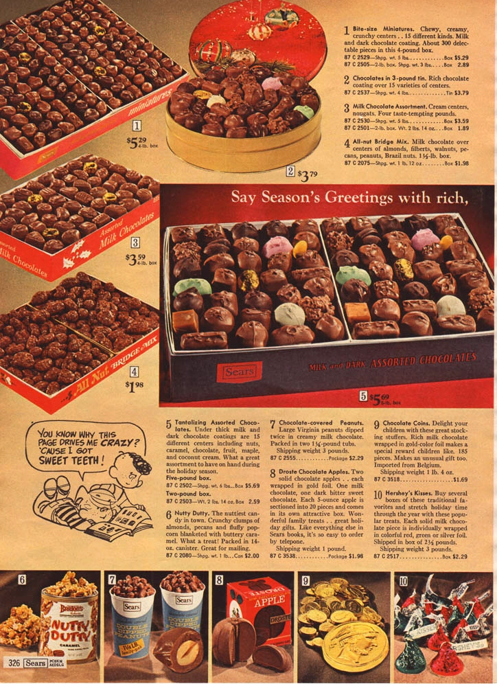 SEARS CANDY PAGE, 1969 edited
