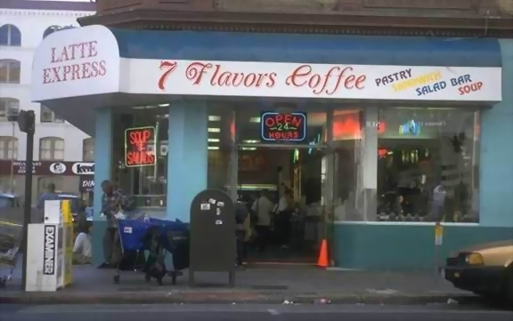 COFFEE SHOP - MINE