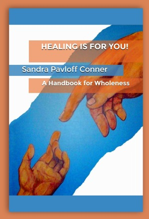 HEALING AMAZON BOOK COVER - FRONT ONLY w. shadow