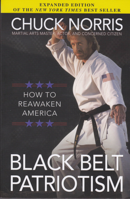 CHUCK NORRIS BOOK COVER