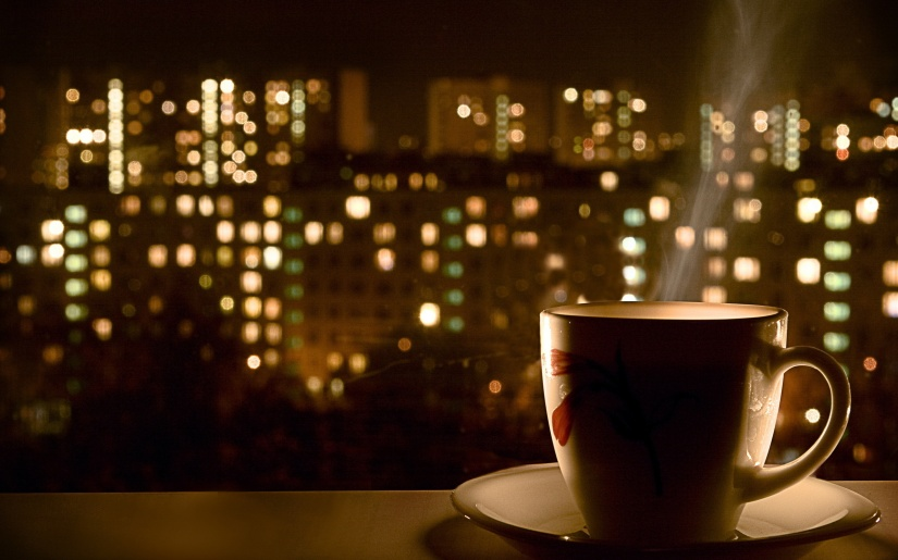 Hot-Coffee-Window free wallpaper