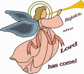 ANGEL CLIP ART- WITH TEXT