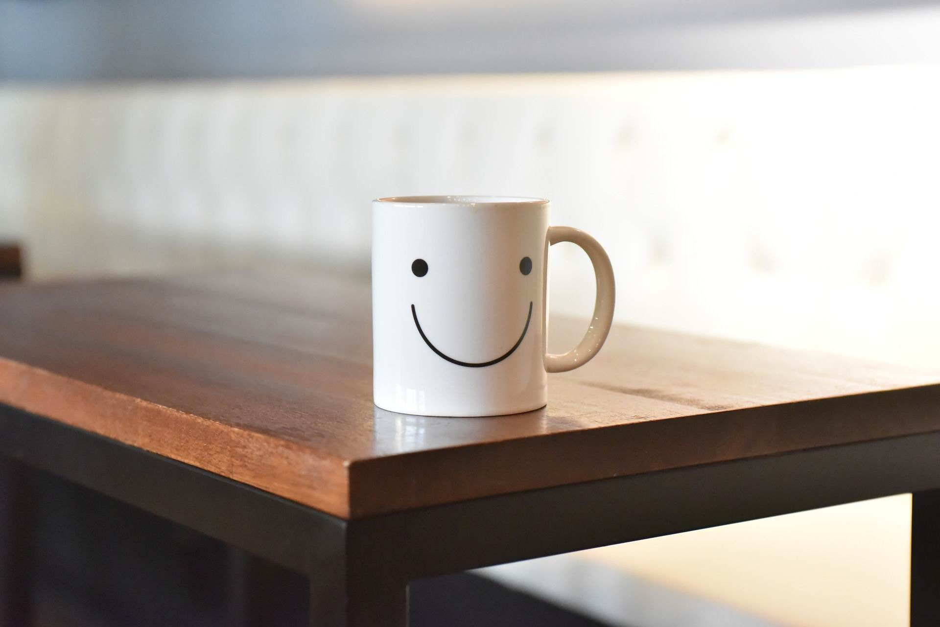 COFFEE CUP SMILEY WHITE - Bosco_lee 1310 PX