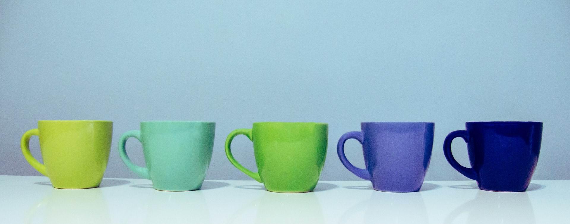COFFEE CUPS -- 5
