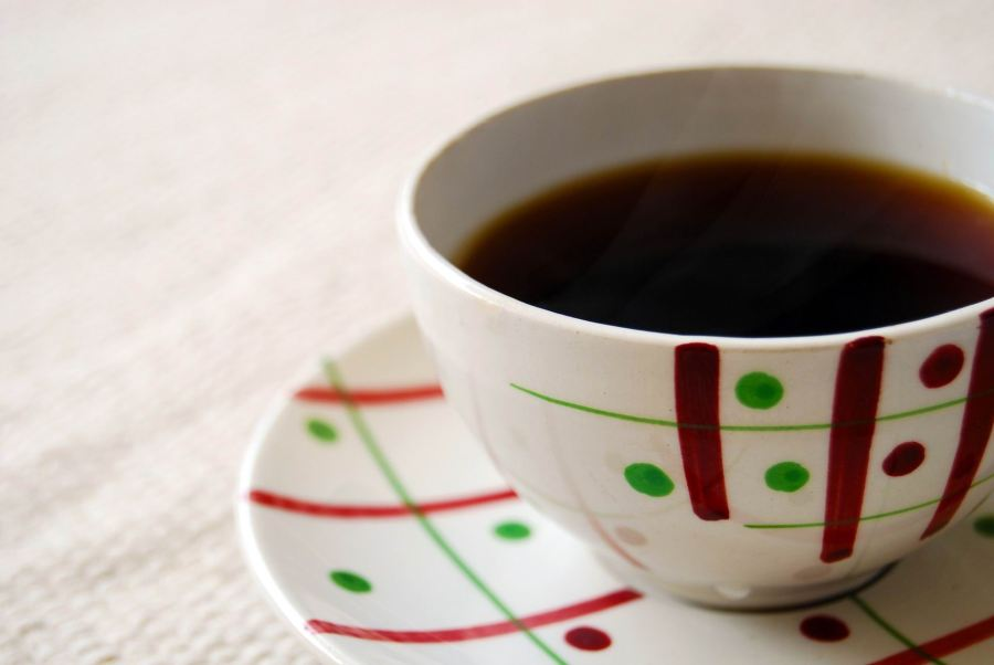 COFFEE - POKA DOT CUP