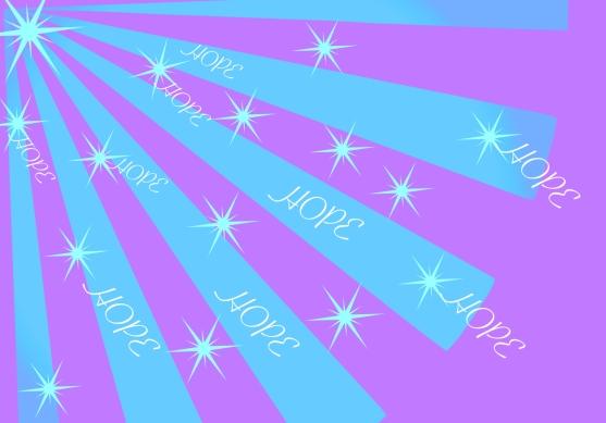 HOPE RAYS PURPLE
