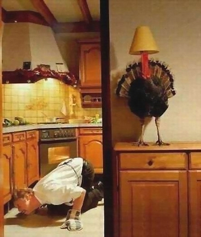 TURKEY LAMP - sharpened