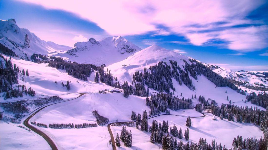 SNOW MOUNTAIN ROADS - 12019 - PX