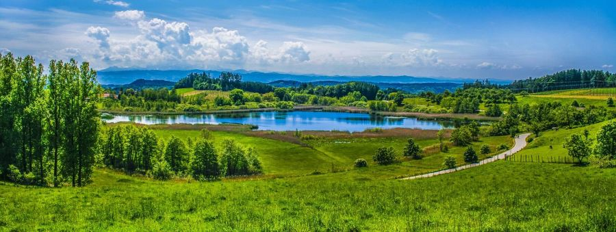 GREEN PASTURES -- ALPINE LAKE -- Tommy_Rau -- PX